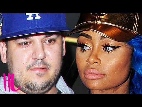 Rob Kardashian & Blac Chyna: She Kicks Rob Out The House