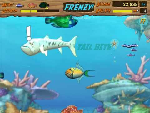 Let's Play Feeding Frenzy 2 - 03 - Levels 9-11 (No Commentary)