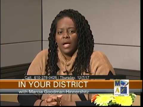 Meet new District Magistrate Carissa Johnson with Marcia Goodman-Hinnershitz 12-7-17
