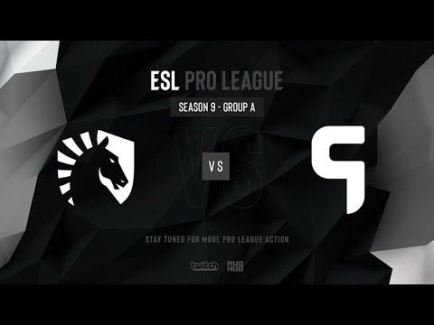 Team Liquid vs Ghost - ESL Pro League Season 9 NA - map1 - de_mirage [SSW & Godmint]