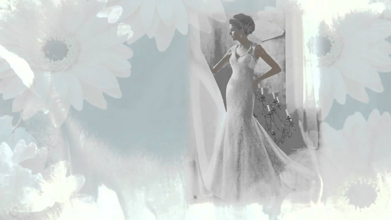Mori Lee Blu Wedding Dresses - YouTube
