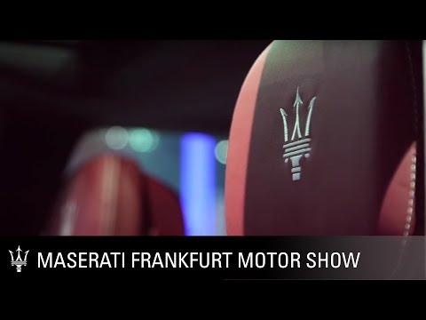 Maserati Ermenegildo Zegna Interiors at the Frankfurt Motor Show. IAA 2015
