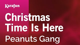Karaoke Christmas Time Is Here - Peanuts Gang *