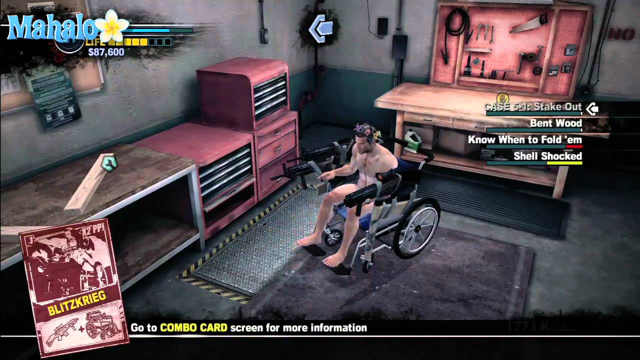 Dead Rising 2 Weapon Combinations Blitzkrieg Youtube