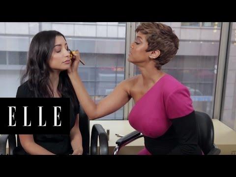 Two-Minute Makeup | Tyra Banks University | ELLE