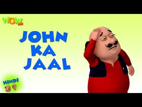 John Ka Jaal  Motu Patlu in Hindi  3D Animation Cartoon for Kids  As on Nickelodeon