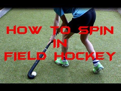 How to do the Spin | Field Hockey Tutorial | FunnyDog.TV
