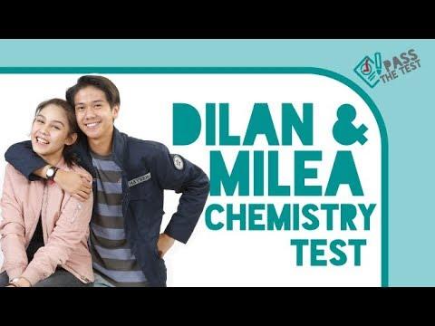 Iqbaal Ramadhan & Vanesha Prescilla Tes Chemistry Tentang Dilan & Milea