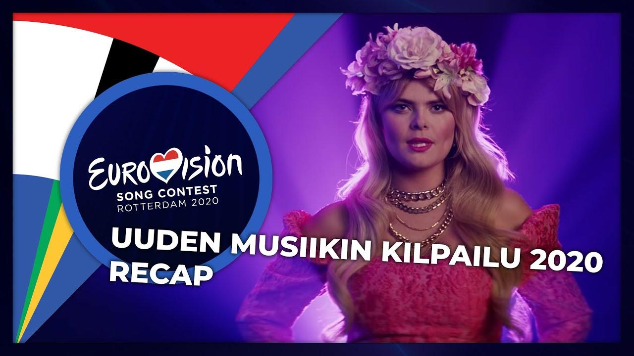 Uuden Musiikin Kilpailu 2020 Finland Recap Youtube