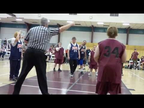 Special Olympics Basketball Regional 2017