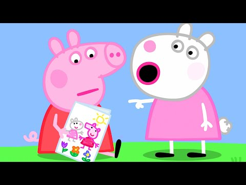 Peppa Pig Official Channel | Say Good Bye to Suzy Sheep