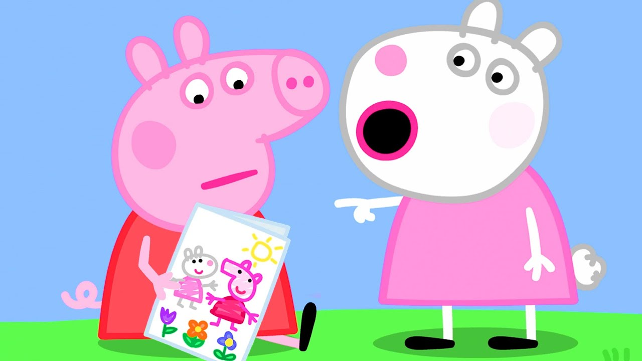 Peppa Pig Official Channel   Say Good Bye to Suzy Sheep