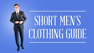 Classic Clothing For Short Men  Mistakes To Avoid & How To Buy Suits