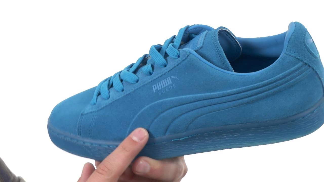 official photos 68c07 9eccc PUMA Suede Emboss Iced Fluo SKU:8676286 - YouTube
