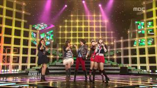 4Minute - What a girl wants, 포미닛 - 왓 어 걸 원트, Music Core 20091024