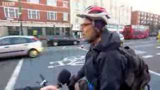 Road safety checks on London's cyclists and drivers