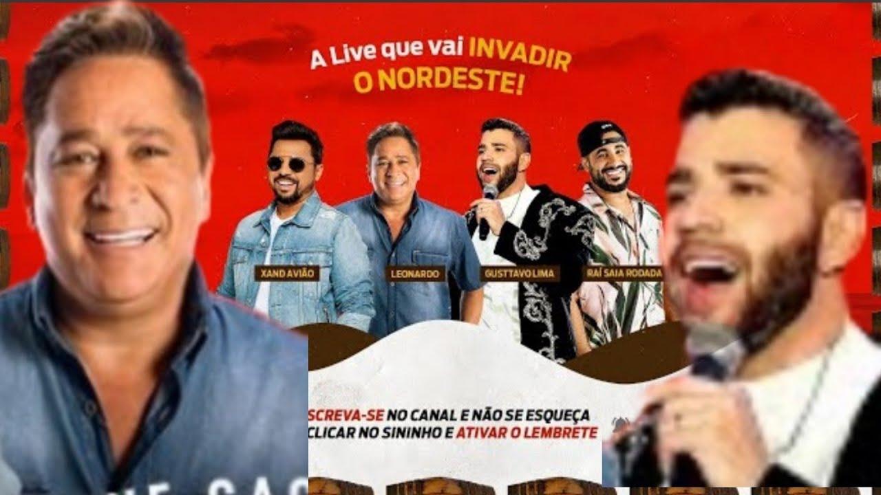 Download Live Cachaça Cabaré,  Gusttavo Lima,  Leonardo, Xand Avião e Raí saia Rodada