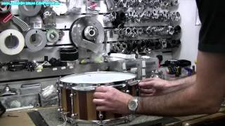 Drum Tuning Tips / Head Changing Guide with Drum Tech - Simon Jayes