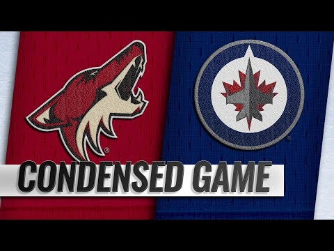 10/20/18 Condensed Game: Coyotes @ Jets
