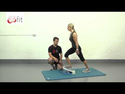 Achilles Tendon Stretch Exercises using the 66fit Multi-Adjustable Slant Board - Part 1