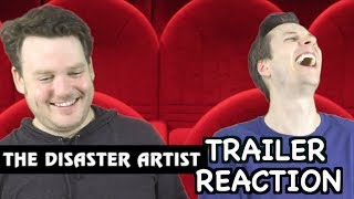 The Disaster Artist - Official Trailer - Reaction