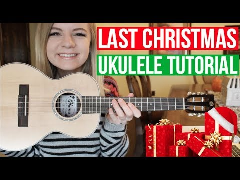 Last Christmas - Wham! | EASY UKULELE TUTORIAL