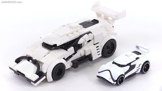 LEGO Hot Wheels Star Wars First Order Stormtrooper Car MOC