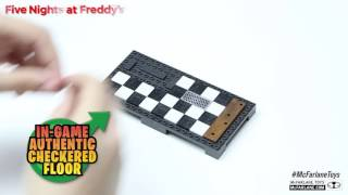 Five Nights at Freddy's Backstage Construction Set Build Video from McFarlane Toys