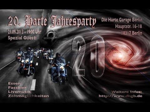 20 Jahre Harte Garage Berlin Mit Generation 2