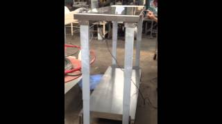 Electrical Adjustable Height Work Bench