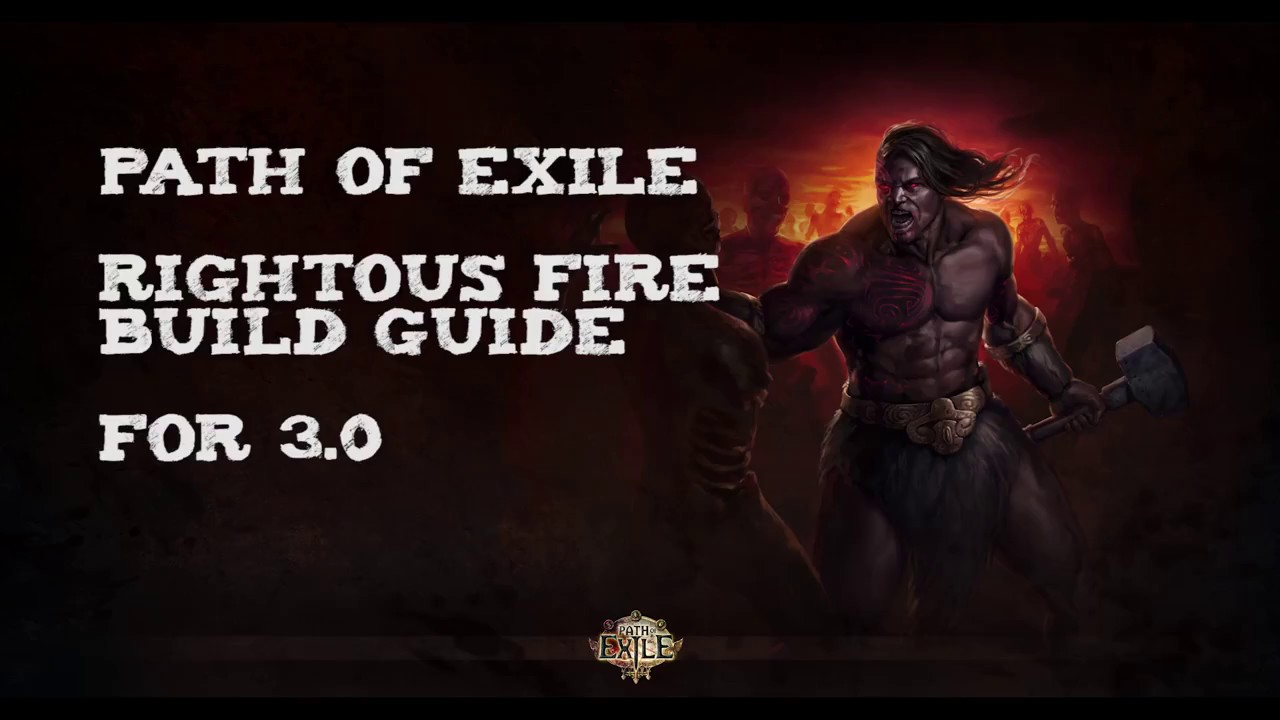 Righteous Fire Build
