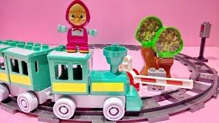 Masha I Medved ❤ Masha And The Bear Playbig Bloxx Masha's Training Fun Playset Toy