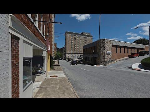 Walking In Bluefield, West Virginia - Downtown