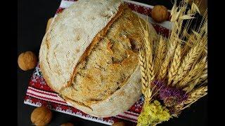 Хлеб из цельнозерновой муки с орехами на биге Пшеничный хлеб по рецепту Дж Хамельмана