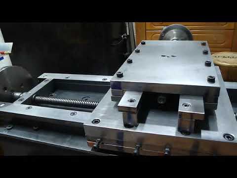 DIY Homemade Lathe  Power feed  part 1