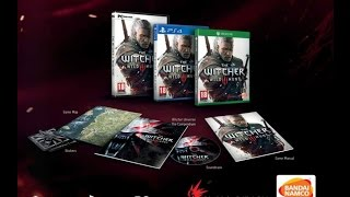 The Witcher 3 Wild Hunt Bonus Content unboxing
