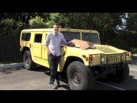 Hummer Gas Mileage Challenge