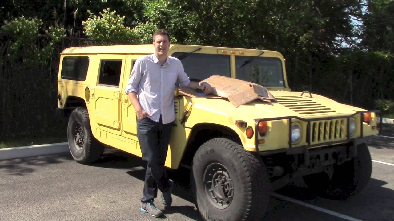 Hummer Gas Mileage Challenge - YouTube