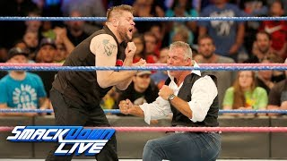 Kevin Owens unleashes a Hellish assault on Shane McMahon: SmackDown LIVE, Oct. 3, 2017