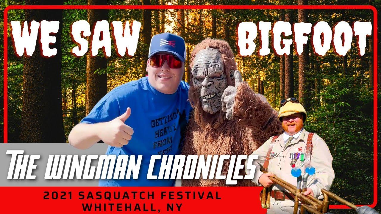 We Saw Bigfoot At A Sasquatch Festival - Whitehall, NY