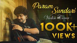 Param Sundari || Violin Cover || Rineesh Narayan @A. R. Rahman @Shreya Ghoshal Official