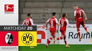 SC Freiburg Borussia Dortmund 2 1 Highlights Matchday 20 Bundesliga 2020 21