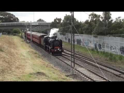 2013 Steamrail Darling - Glen Waverley shuttles