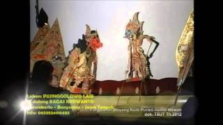 Ki Dalang Bagas Kriswanto - Purwokerto - Banyumas Wayang Kulit Lakon Pujinggolowo Lair