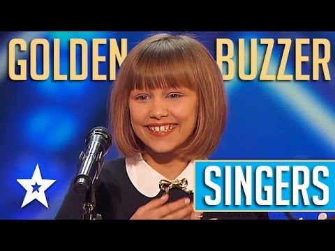 Golden Buzzer SINGERS On America's Got Talent 2016 | Grace V