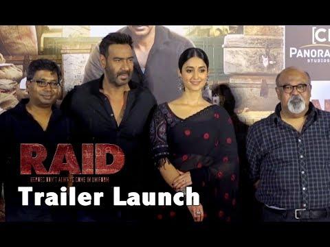 Raid Movie Trailer Launch Event | Ajay Devgan | Iliana D'cruz | Full HD