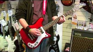 Epiphone Wilshire Guitar demo - Nevada Music UK