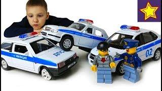 - Полицейские машинки ДПС Перекраска такси Оборотни в погонах Police car toys