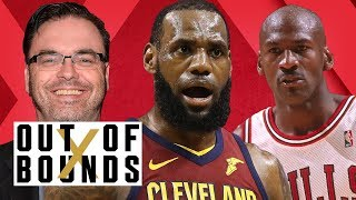 Cavs Getting Swept?, Can Houston Win Game 2?, New Michael Jordan Doc | Out of Bounds