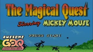 The Magical Quest Starring Mickey Mouse by Le Hulk in 17:53 - AGDQ2019